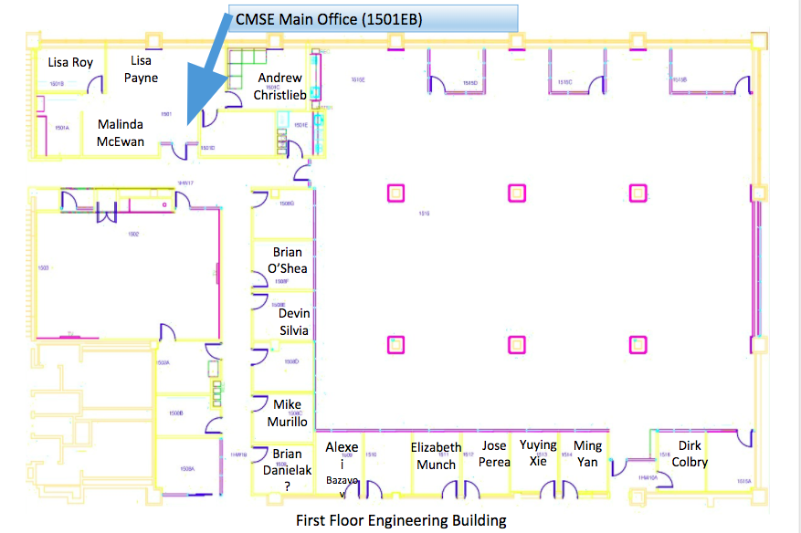 CMSE First Floor Office